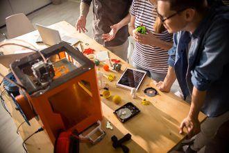3D-tisk v učilnici za biologijo