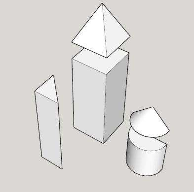 Didaktični pripomočki za izračun prostornine teles