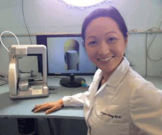 Dr. Julielynn Wong 3d-tisk v medicini NASA program