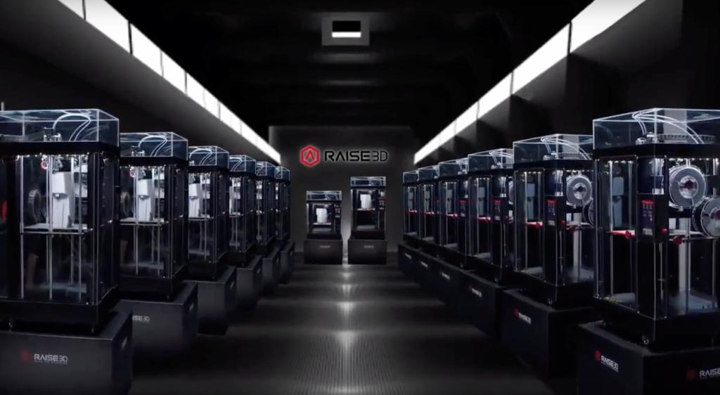 3D-tiskalnik Raise3d tovarna fleksibilna proizvodnja