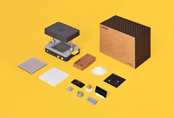 Mayku FormBox vsebina škatle