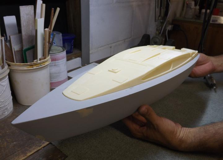 3D-natisnjen prototip luksuzne jahte