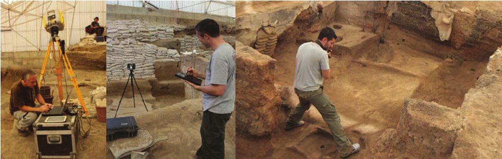 3D-skeniranje v arheologiji.