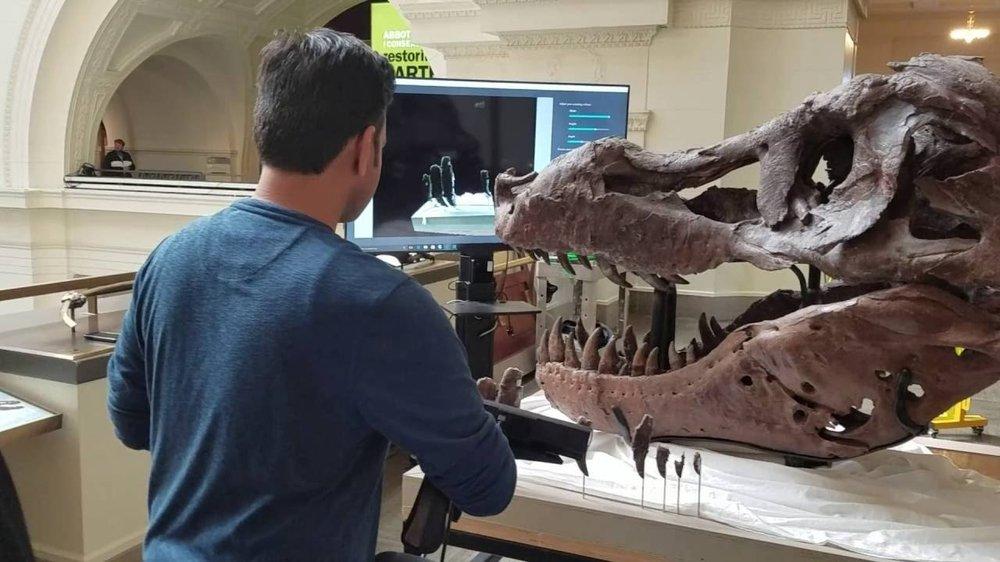 3D-skeniranje v muzeju