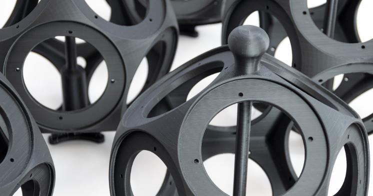 3D-natisnjeno ohišje za zaočnike.