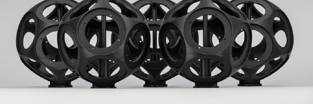 3D-natisnjeno ohišje zvočnikov.