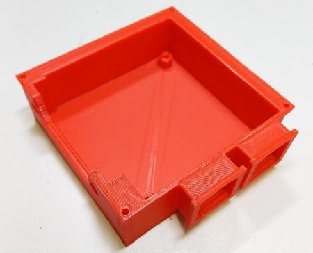 3D-natisnjeno ohišje.