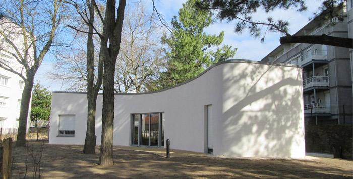 3C-natisnjena hiša v Nantesu.