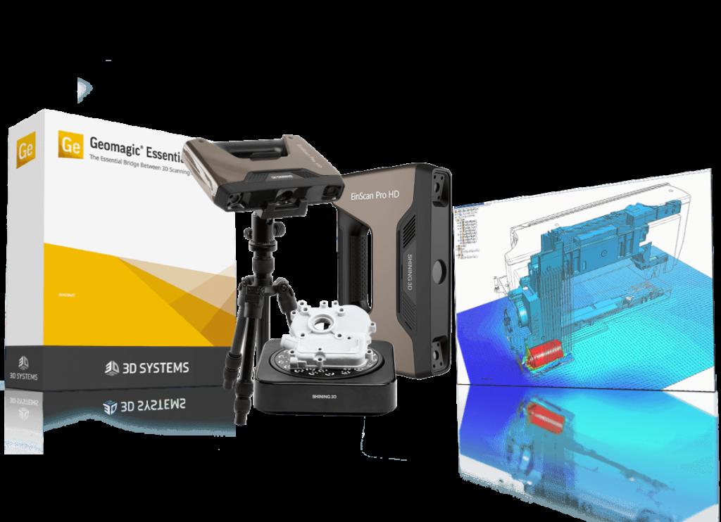 Profesinalno 3D-skeniranje.
