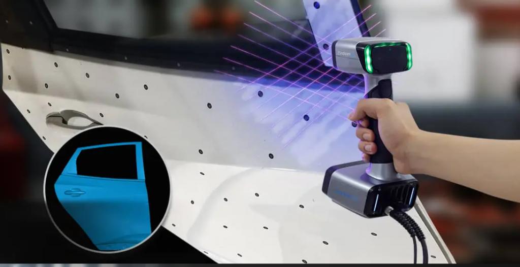 3D-skeniranje z ročnim EinScan HX 3D-skenerjem