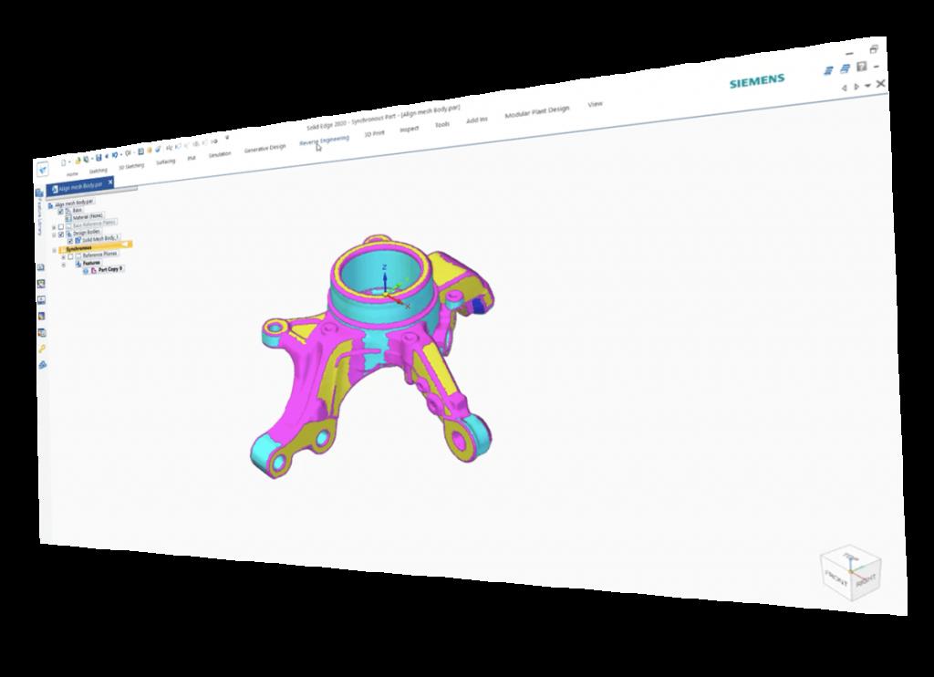 Programska oprema za 3D-skeniranje.